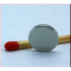 Kruzni neodijumski magnet Fi 10 mm x 1mm