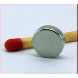 Kruzni neodijumski magnet Fi 8 mm 1,1 KG